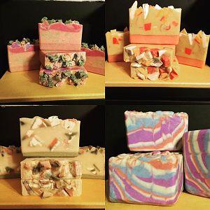Embed and Swirled Soap