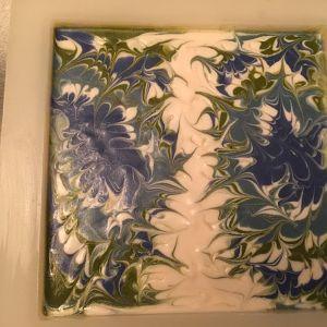 Swirl Design Soap