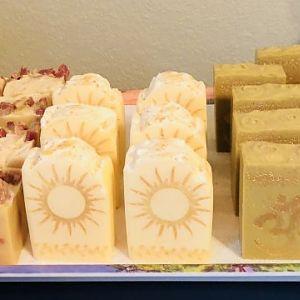 Rising Sun Lard Soap & Aleppo!