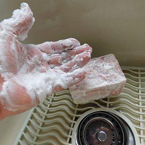 Bonneville Salt Flats Soap - Lather