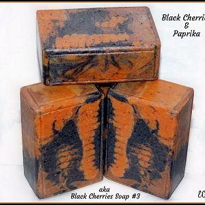 Black Cherries & Paprika - aka Black Cherries Soap #3