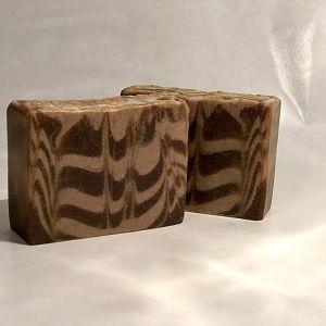 Hazelnut oil Chocolate Coffee Soap!