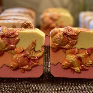 Jasmine Vanilla Goldfish Soap!