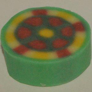 Soap dough abstract
