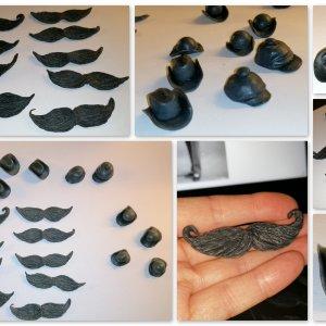 Handmade embeds for my gentlemans soap
