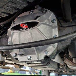 G2 Aluminum Differential Cover