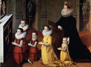 Petrozzani family at prayer.jpeg