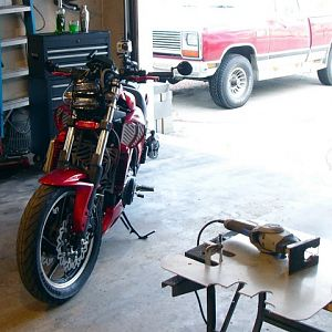 Fabbing in the garage