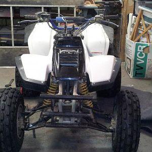 Jan 19/2012 Front wheels flipped with flush valves