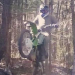 my old 2001 kx 125 i traded this bike for my 04 warrior 350