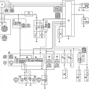 Wiring Diagram With Color Code Yamaha